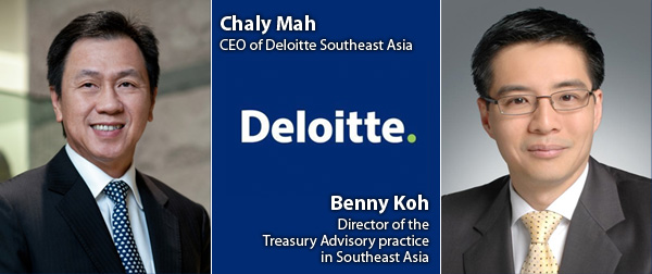 Chaly Mah and Benny Koh - Deloitte