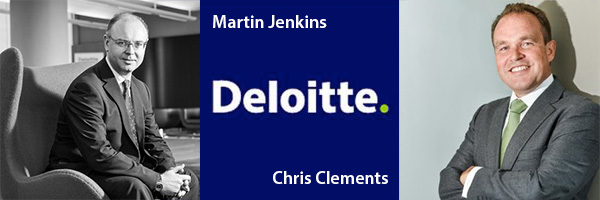 Chris Clements and Martin Jenkins, Deloitte