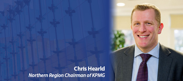 Chris Hearld Northern Region Chairman of KPMG