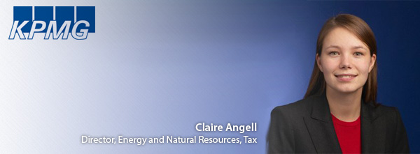 Claire Angell Director Energy and Natural Resources Tax at KPMG