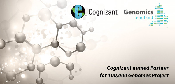 Cognizant named Partner for 100,000 Genomes Project