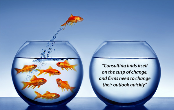 Consulting finds itself on the cusp of change