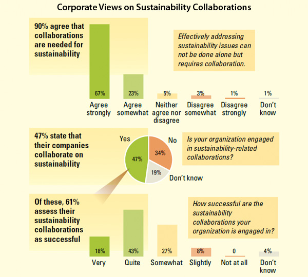 Corporate Views on Sustainability Collaborations