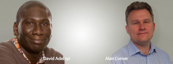 David Adebiyi & Alan Corner