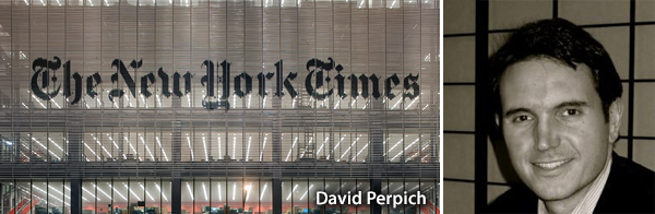 David Perpich, The New York Times