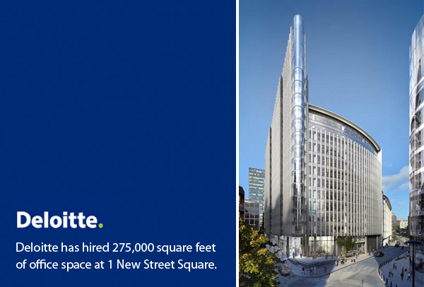 Deloitte - New Street Square