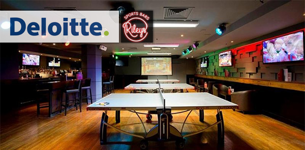 Deloitte helps Rileys Sports Bars