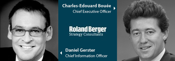 Deniel Gerster and Charles Edouard Bouee - Roland Berger