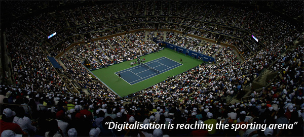 Digitalisation is reaching the sporting arena