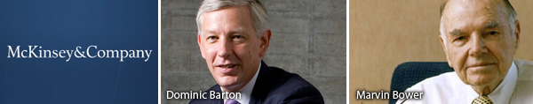 Dominic Barton - Marvin Bower - McKinsey