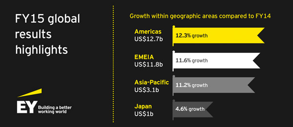 EY - FY2015 global results