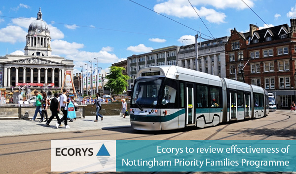 Ecorys to review effectiveness of Nottingham Priority Families Programme