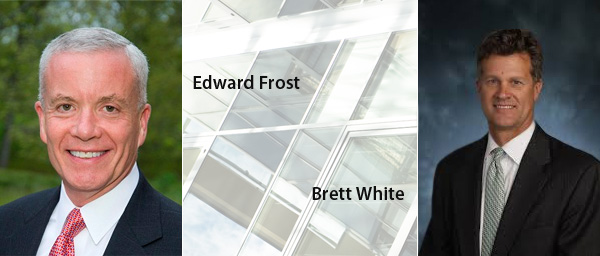 Edward Frost and Brett White