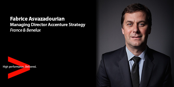 Fabrice Asvazadourian, Managing Director Accenture Strategy, France & Benelux