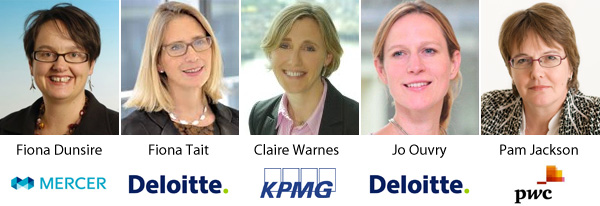 Fiona Dunsire | Fiona Tait | Claire Warnes | Jo Ouvry | Pam Jackson