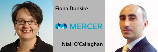 Fiona Dunsire and Niall O'Callaghan, Mercer