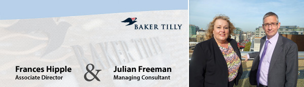 Frances Hipple and Julian Freeman - Baker Tilly