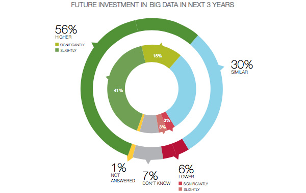 Future investment in Big Data in next 3 years