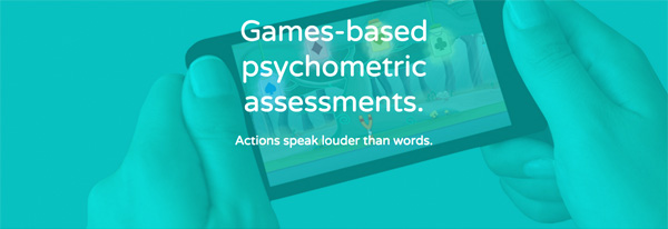 Games-based psychometric assessments