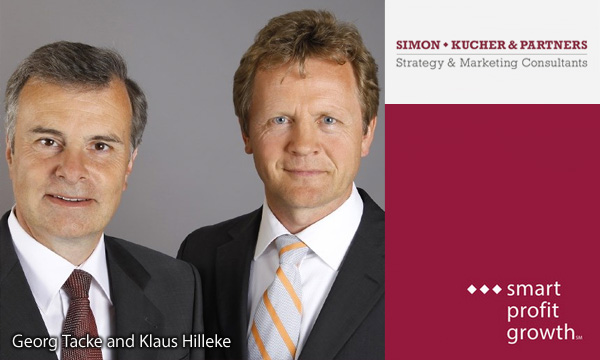 Georg Tacke and Klaus Hilleke - Simon-Kucher and Partners