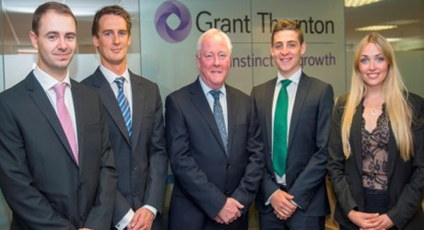 Grant Thornton Isle of Man adds four trainees to team