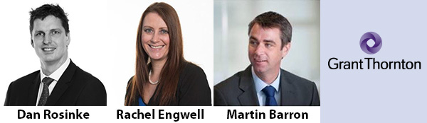 Grant Thornton adds 3 Partners to Yorkshire practice