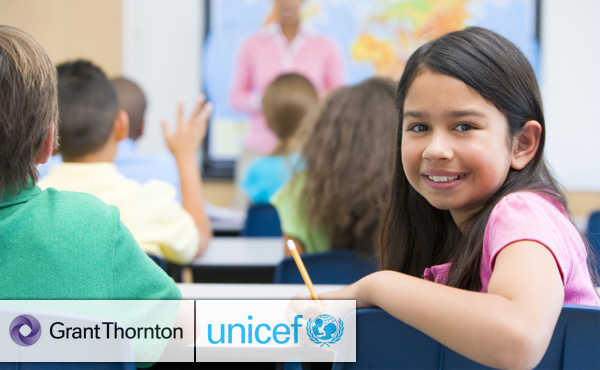 Grant Thornton helps UNICEF to build schools