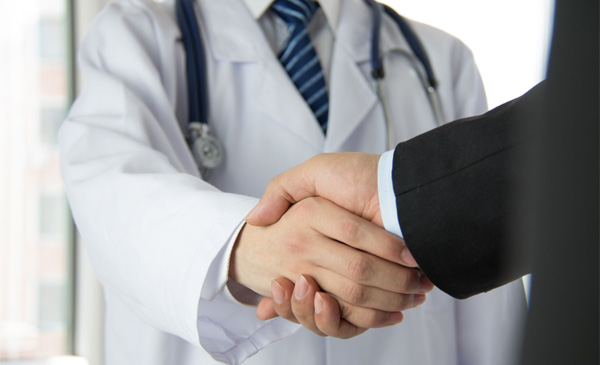 Healthcare and business cooperation