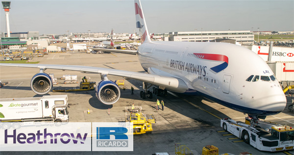 Heathrow Airport hires Ricardo
