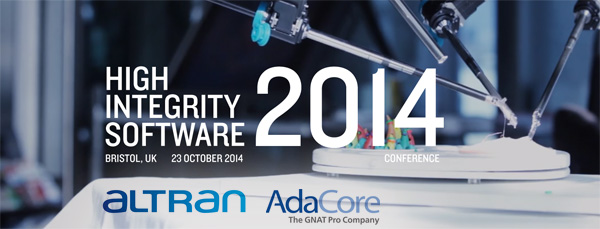 High Integrity Software - Altran and AdaCore