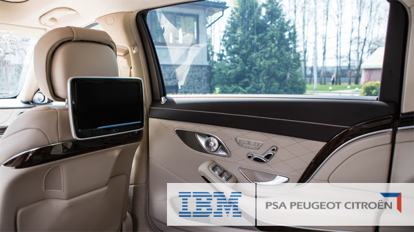 IBM & PSA Peugeot Citroen to build connected services