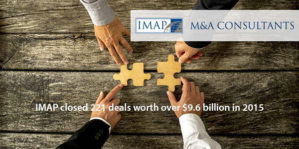 IMAP closed 221 deals in 2015