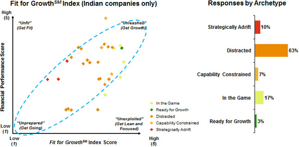 Indian companies not ready for growth