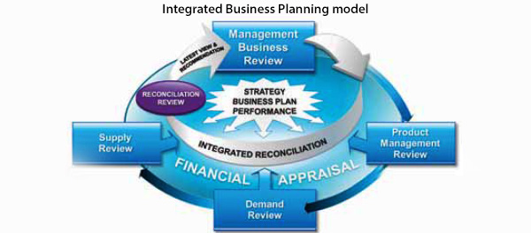 Integrated Business Planning model