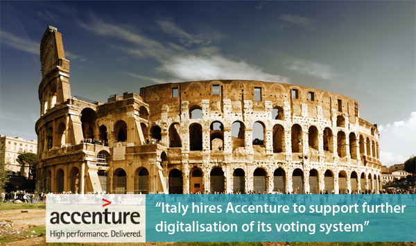 Italy hires Accenture to digitalise Italian voting system