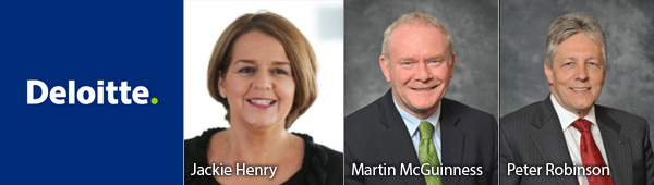 Jackie Henry - Martin McGuinness - Peter Robinson