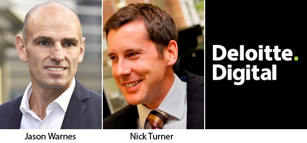 Jason Warnes and Nick Turner - Deloitte