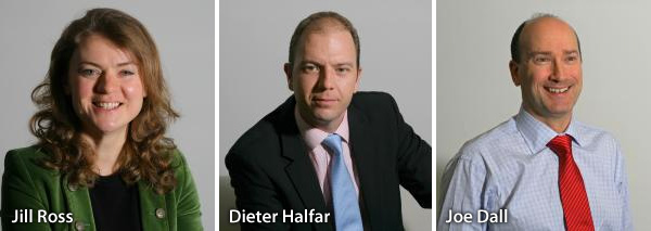 Jill Ross, Dieter Halfar and Joe Dall - Elixirr