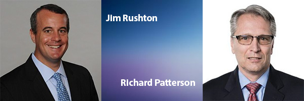 Jim Rushton and Richard Patterson