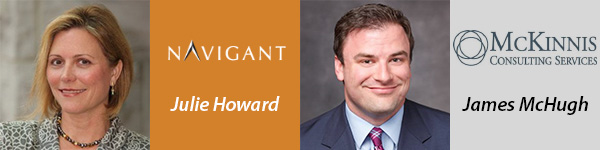 Julie Howard, Navigant | James McHugh, McKinnis Consulting Service