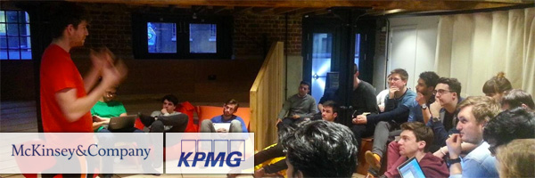 KPMG and McKinsey & Co. support Entrepreneur First