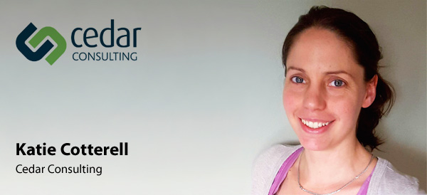 Katie Cotterell - Cedar Consulting
