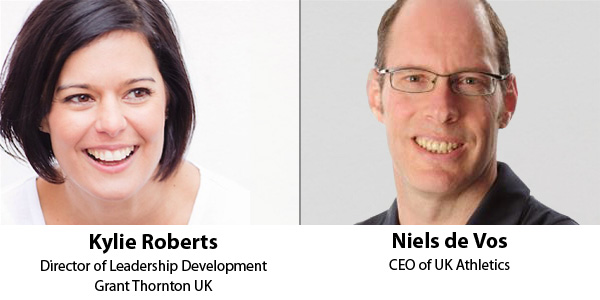 Kylie Roberts and Niels de Vos