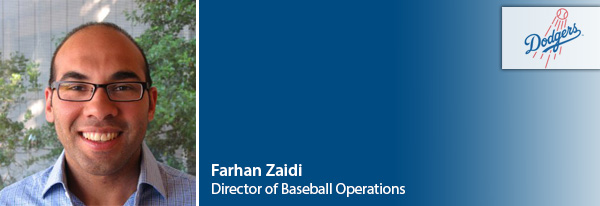 LA DODGERS appoints Farhan Zaidi as General Manager