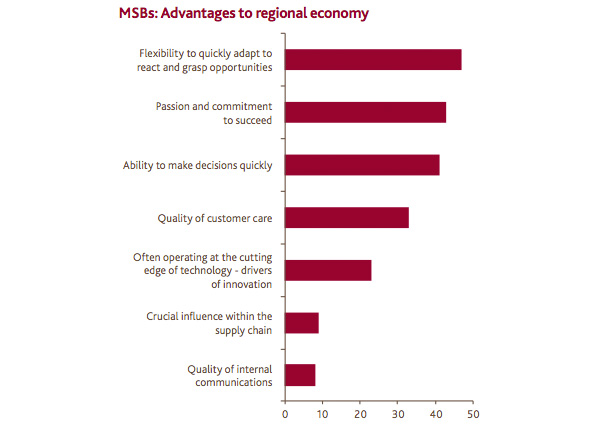 MSBs: Advantages to regional economy