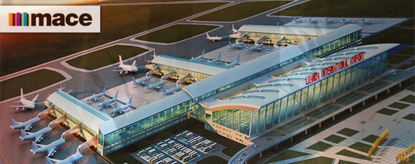 Mace project manager Luanda International Airport