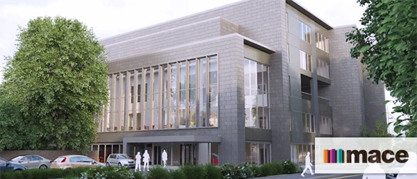 Mace to project manage the Proton Beam Therapy project