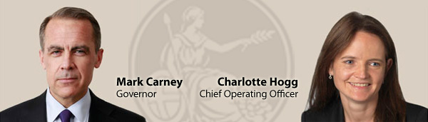 Mark Carney and Charlotte Hogg - BOE