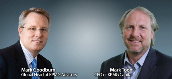 Mark Toon, KPMG Capital and Mark Goodburn KPMG Advisory