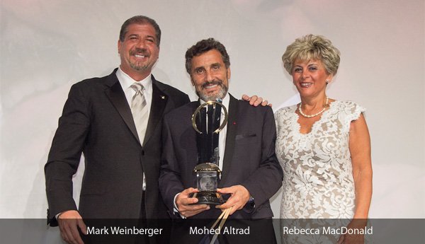Mark Weinberger, Mohed Altrad, Rebecca MacDonald